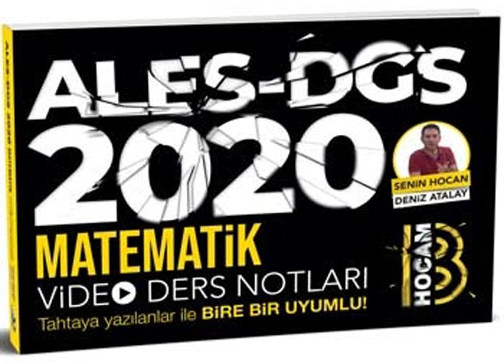 ALES DGS MATEMATİK VİDEO DER.NOT.-2020